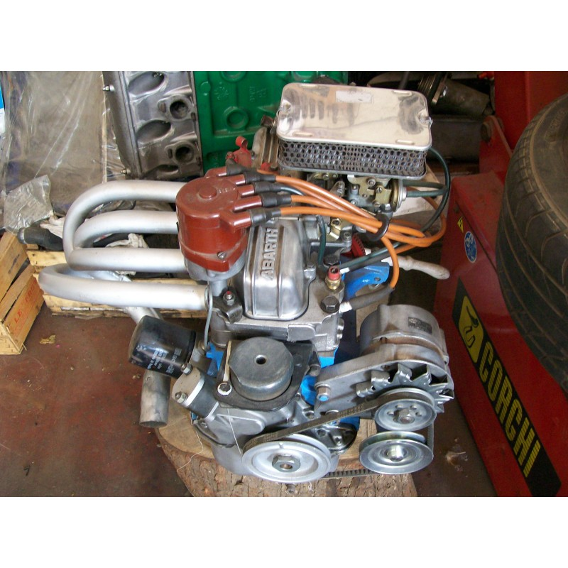 Motore A Abarth Da Competizione